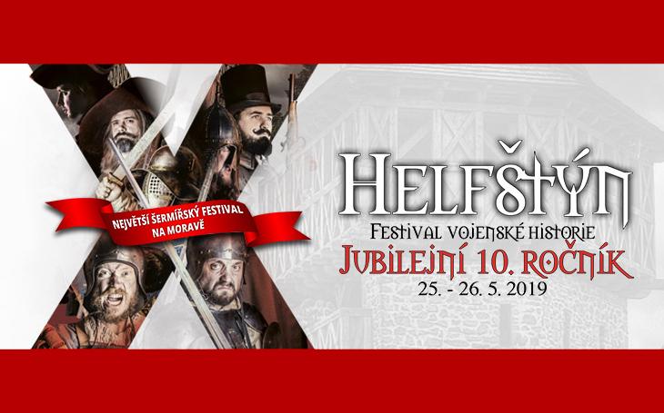 Helfštýn 2019 - 10. ročník festivalu vojenské historie