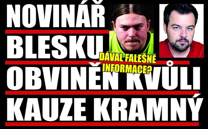 Kauza Kramný znovu u soudu: Novinář Blesku, který si historku o vraždě vycucal z prstu, čelí vážným obviněním