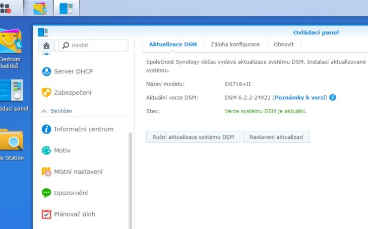 Společnost Synology® představuje systém DiskStation Manager 6.2.2