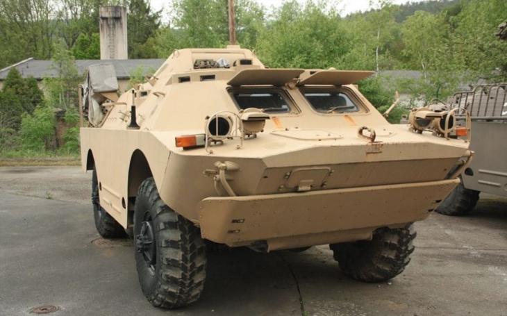 ,,Veterán&quote; v Armádě ČR - obrněný průzkumný transportér BRDM-2rch