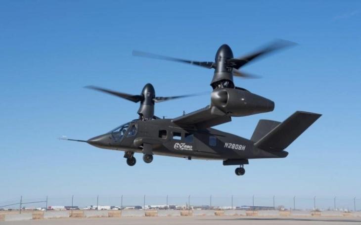 Bell V-280 Valor dosáhl špičkového hodnocení při testu agility v nízké rychlosti