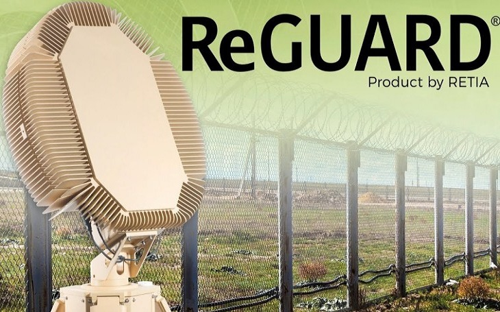 Pardubická RETIA poprvé představí na IDETu 3D radar ReGUARD