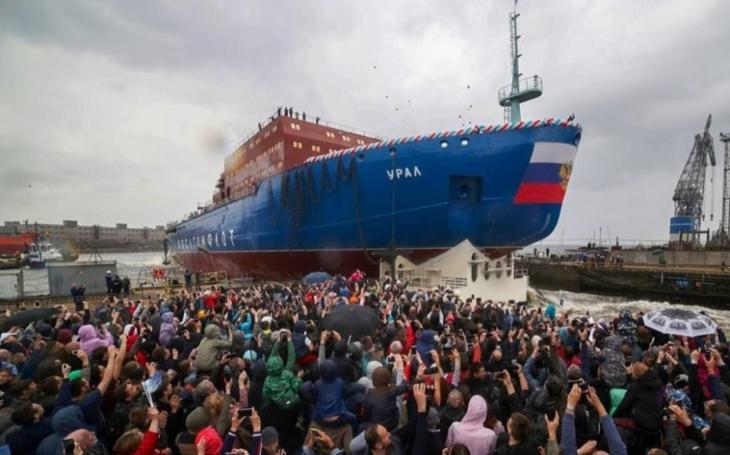 Další ruská posila do Arktidy - jaderný ledoborec Ural