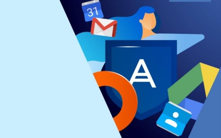 Acronis přidává do svých řešení možnost  zálohování a obnovy dat aplikací Google