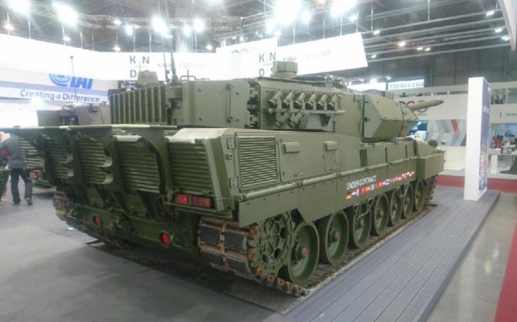 IDET 2019 – KMW představuje hlavní bojový tank Leopard 2