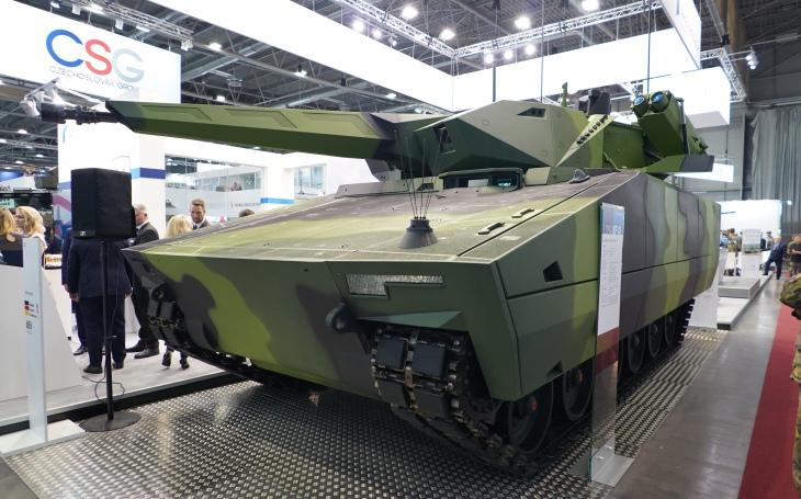 Rheinmetall na IDETu 2019 – BVP Lynx i budoucí spolupráce