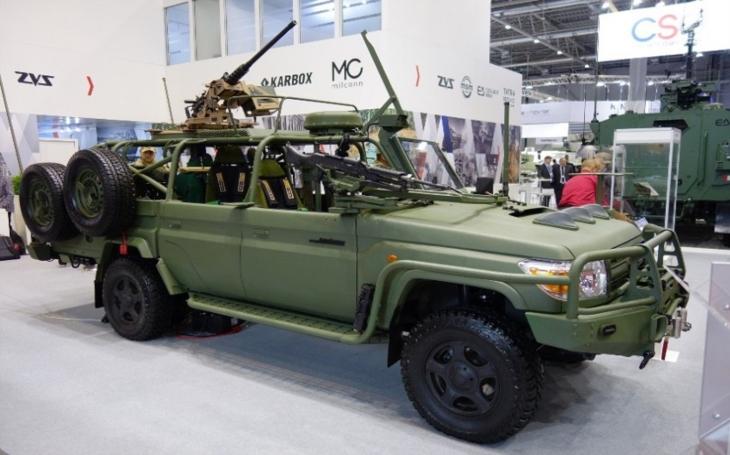 České bojové vozidlo LRPV Gepard získalo ocenění Zlatý IDET