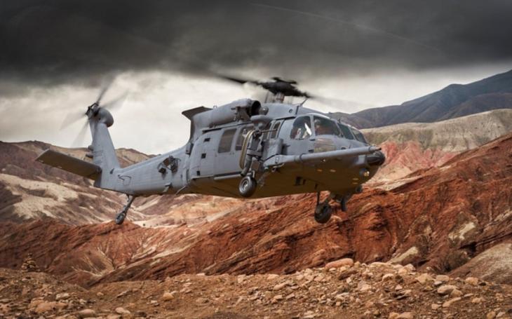 První let záchranné helikoptéry HH-60W pro americké letectvo