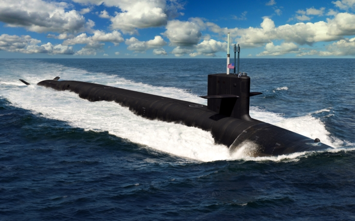 Jaderná ponorka USS Columbia - stavba neviditelného zabijáka začala