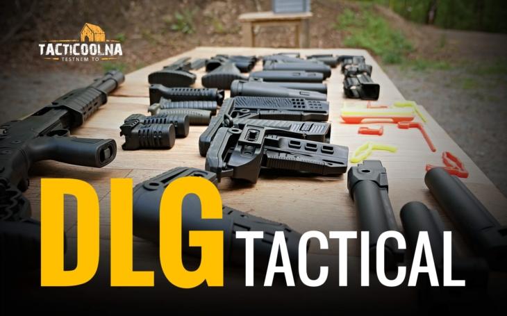 Představení DLG TACTICAL. V Tacticoolně rozdáme doplňky za více než 25 000 Kč