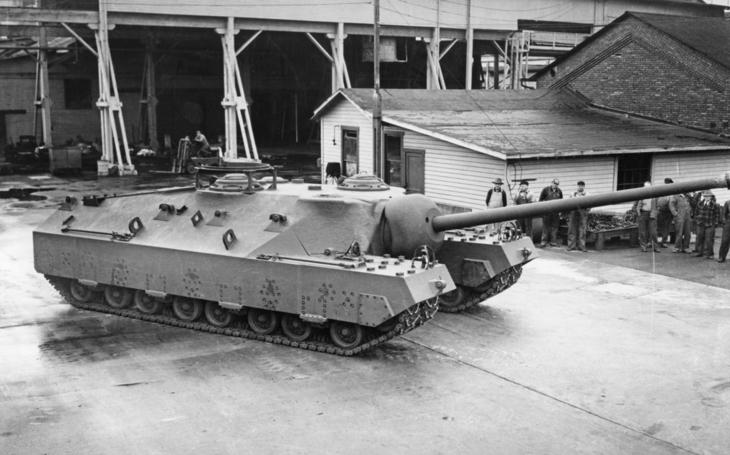 T28 - americké monstrum na proražení Siegfriedovy linie
