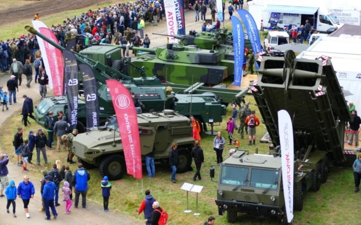 Nová obrněná vozidla a tatrovky se předvedou návštěvníkům akce Bahna 2019