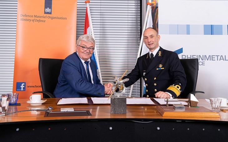 Rheinmetall bude i v příštím desetiletí hlavním dodavatelem munice pro ozbrojené síly Nizozemska