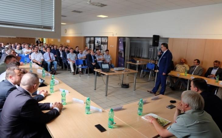 Státní podnik VOP CZ v roli integrátora projektu BVP jednal se zástupci českého průmyslu
