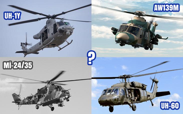 Víceúčelové vrtulníky pro AČR – dramatický rozdíl v ceně italského a amerického řešení