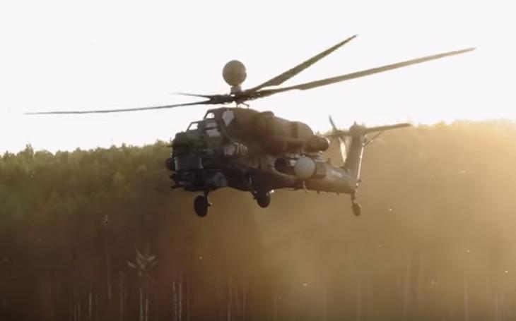 VIDEO: První sériový útočný vrtulník Mi-28NM a modernizovaný Ka-52 Alligator se představily na  vojensko-technickém fóru Army 2019