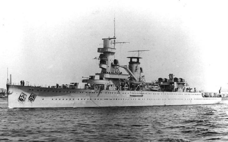 Nizozemský lehký křižník De Ruyter bojoval proti Japoncům. Zkázu našel v Jávském moři