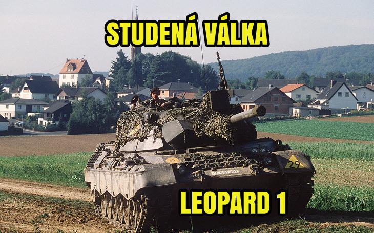 Tank Leopard 1 – německá tanková škola (od 1965)