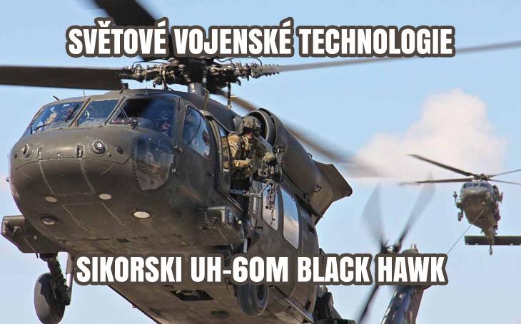 UH-60M Black Hawk - Černý jestřáb pro AČR?