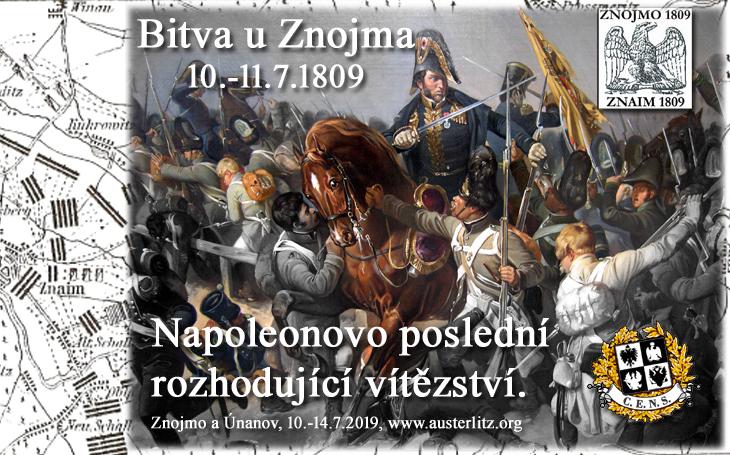 210. výročí bitvy u Znojma - doprovodný program 10. a 11. července