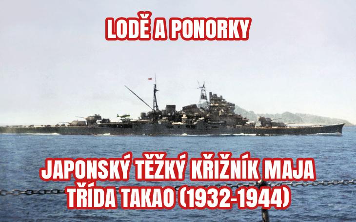 Japonský těžký křižník Maja – R/V Petrel nalezl jeho vrak (1932-1944)