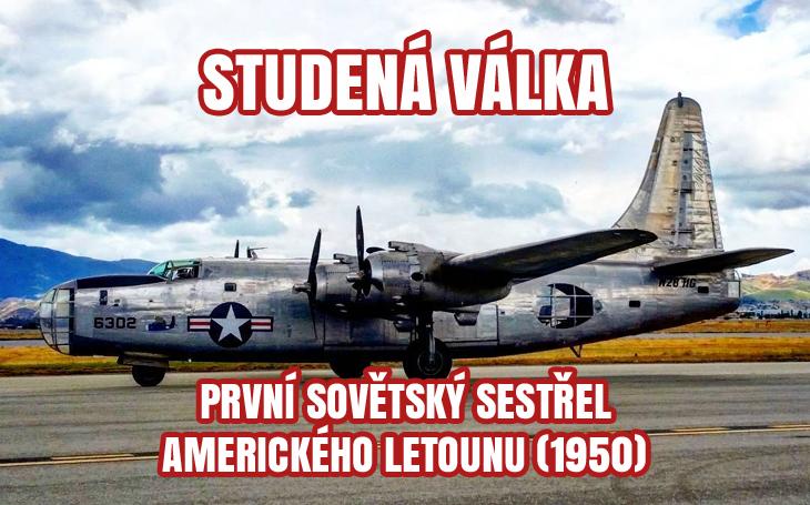 První sovětský sestřel studené války - PB4Y-2 nad Baltským mořem (1950)