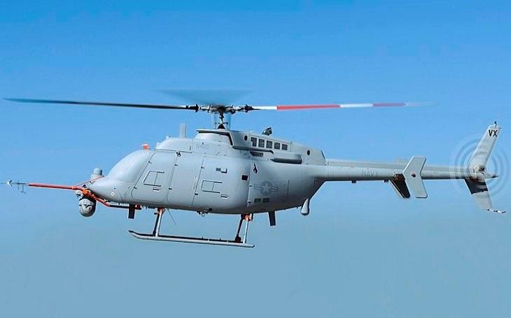Bezpilotní bojový a průzkumný vrtulník MQ-8C Fire Scout dosáhl počáteční operační způsobilosti, vyhlásila US Navy