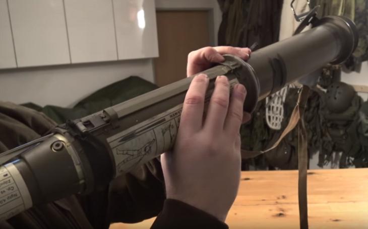 RPG-75: reaktivní protitankový granát ve výzbroji české armády