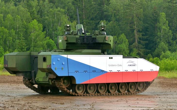 Pardubická RETIA se může podílet na výrobě vozidel ASCOD v případě vítězství v tendru české armády