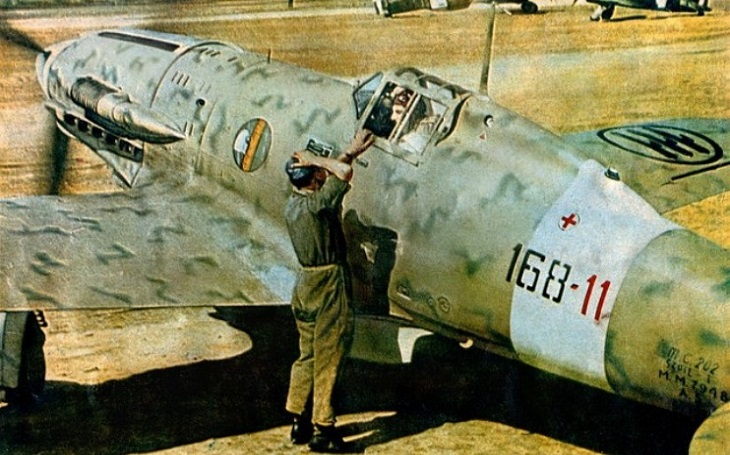 Macchi C.202 Folgore - jednu z nejlepších italských stíhaček srážela nedostatečná palebná síla