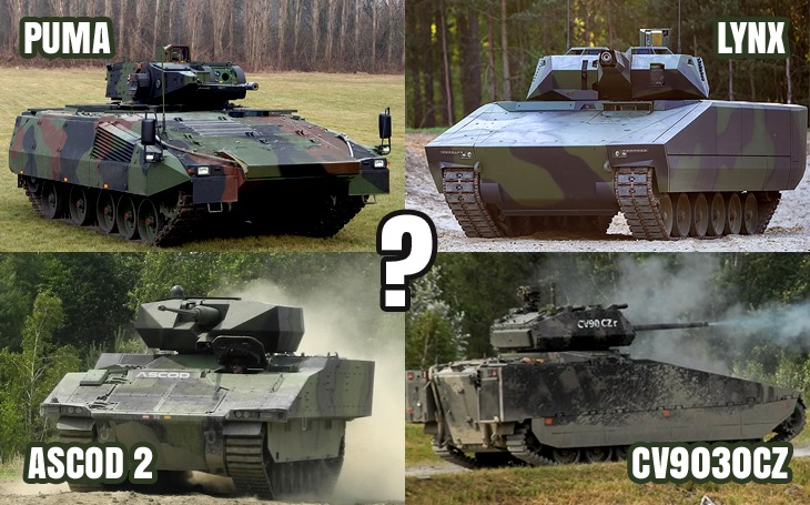 Exkluzivní průzkum potvrdil: Veřejnost proti vozidlům CV90 a Lynx