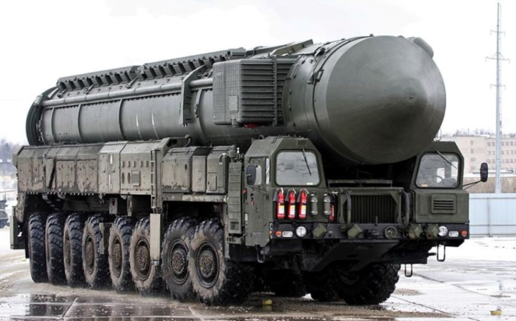 VIDEO: Rusko úspěšně odpálilo mezikontinentální raketu Topol-M