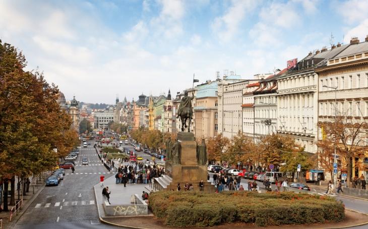 Multifokální senzorový systém Panomera® od společnosti Dallmeier sleduje dění na pražském Václavském náměstí a Staroměstském náměstí