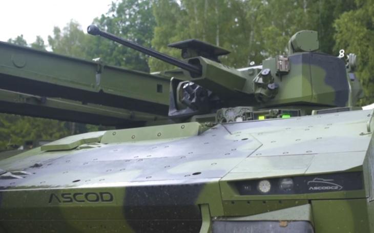 Bojové vozidlo ASCOD - flexibilní platforma pro potřeby armády