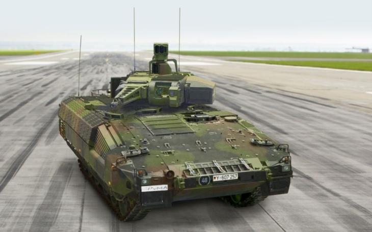 BVP PUMA získává nové schopnosti pro síly velmi rychlé reakce NATO (VJTF)