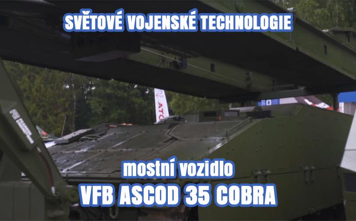 Mostní vozidlo VFB ASCOD 35 Cobra – Bahna 2019