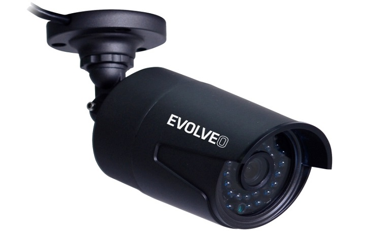 NVR kamerový systém EVOLVEO Detective D04 FHD umožní mít monitorovaný prostor plně pod kontrolou