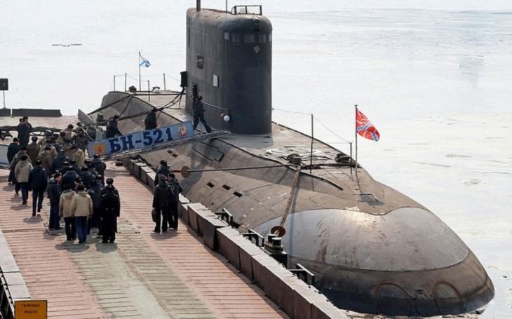 Obává se Velká Británie ,,invaze&quote; ruských ponorek třídy Varšavjanka?