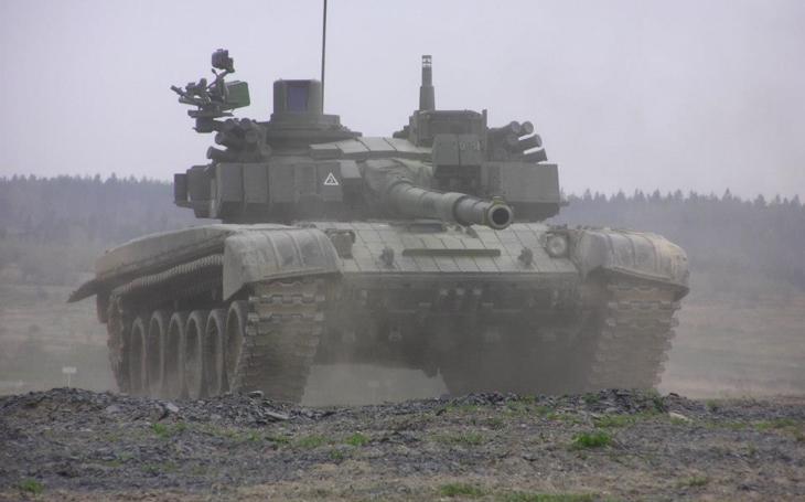 Oceloví giganti - česká modernizace sovětského tanku - T-72M4 CZ