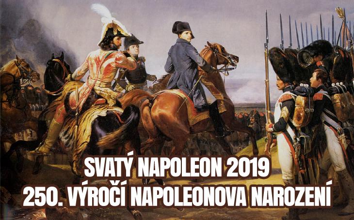 Napoleon Bonaparte – 250. výročí narození (15. srpna 1769)