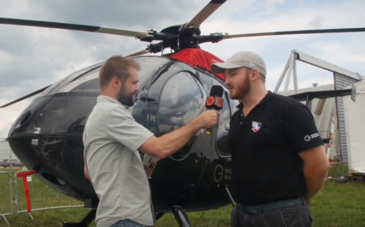 SIAF 2019: Rozhovor s ředitelem firmy European Air Services Markem Kažimírem