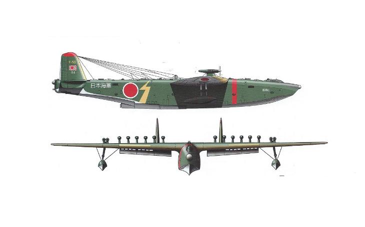 Zapomenuté letouny – japonský obr Kawanishi Kx-03 s 18 motory