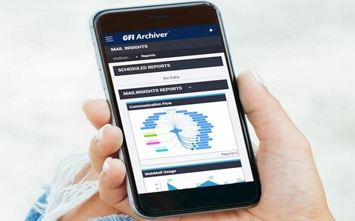GFI Archiver nyní s podporou mobilních zařízení