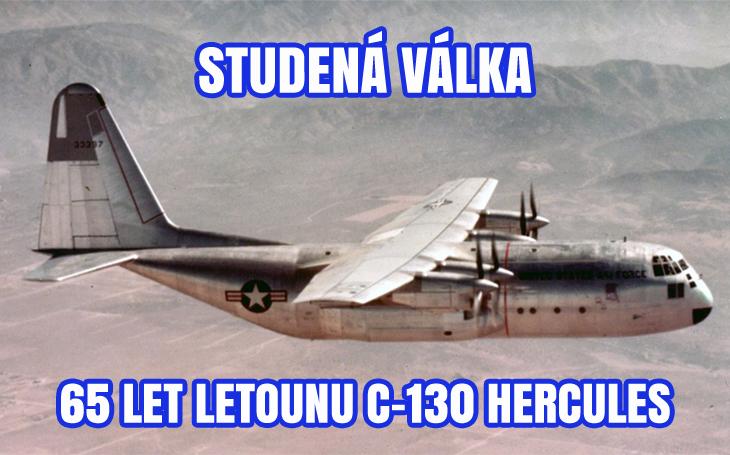 Lockheed C-130 Hercules - 65 let od prvního letu (23. srpna 1954)