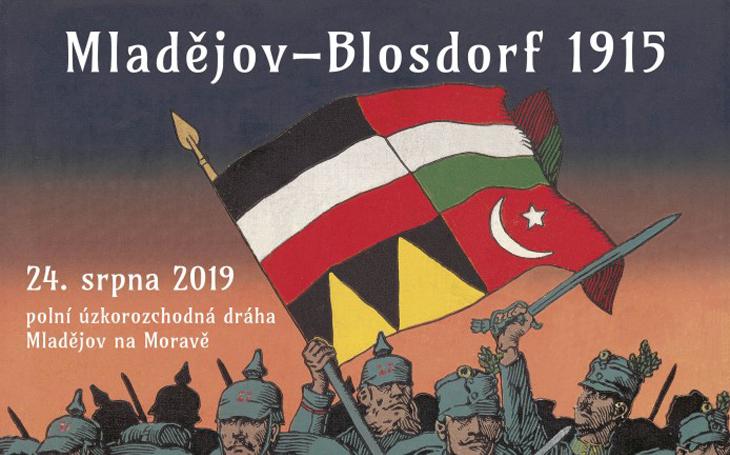 Re-enactment první světové války - Mladějov-Blosdorf 1915