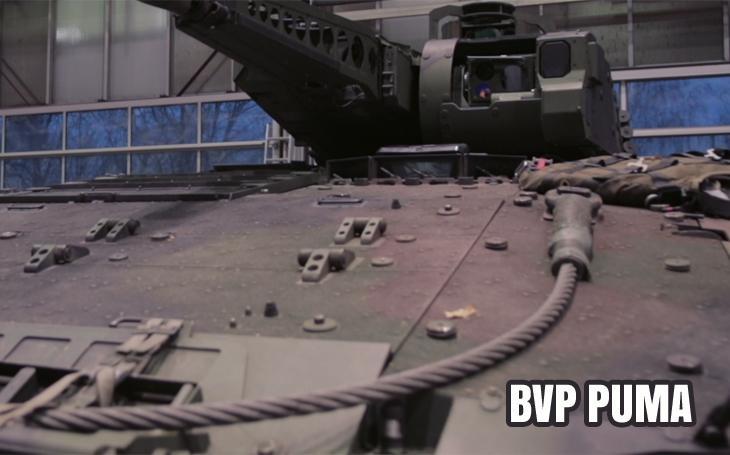 Bojové vozidlo Puma - unikátní záběry z výroby: podívejte se, jak se vyrábí nejbezpečnější BVP