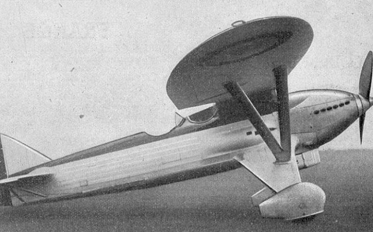 Belgický letoun Renard R.31 byl snadným soustem pro německé messerschmitty