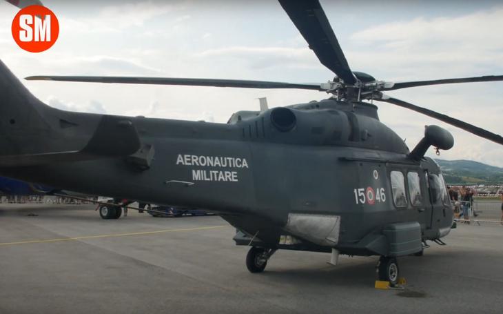 AugustaWestland HH-139 - vrtulník italských ozbrojených sil na SIAF 2019 (videorecenze)