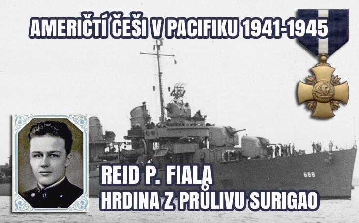 Američtí Češi v Pacifiku - Reid P. Fiala na torpédoborci Remey proti Fusó a Jamaširo (1944)