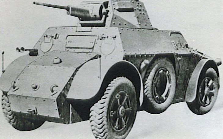 Vozidla Autoblinda byla originálním italským příspěvkem obrněné technice